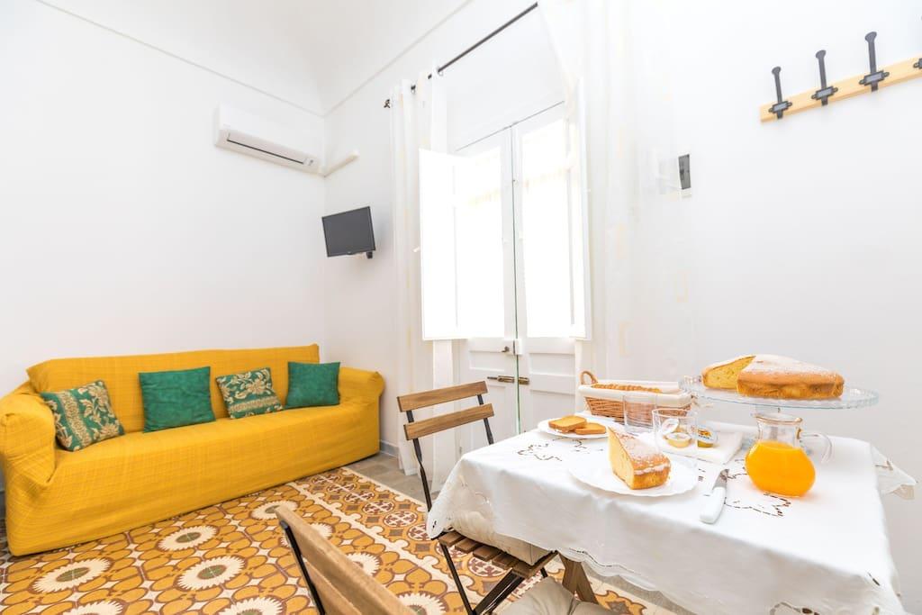 Zona soggiorno - Living Room