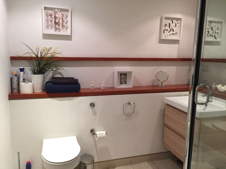 Private bathroom with WC