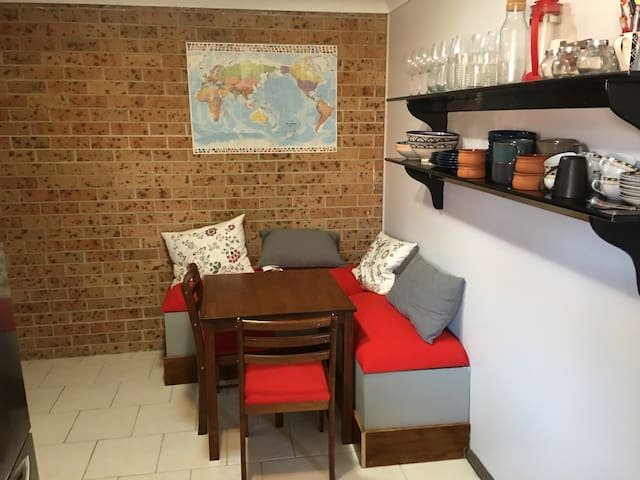 Cosy private 2 bedroom in North Tamworth