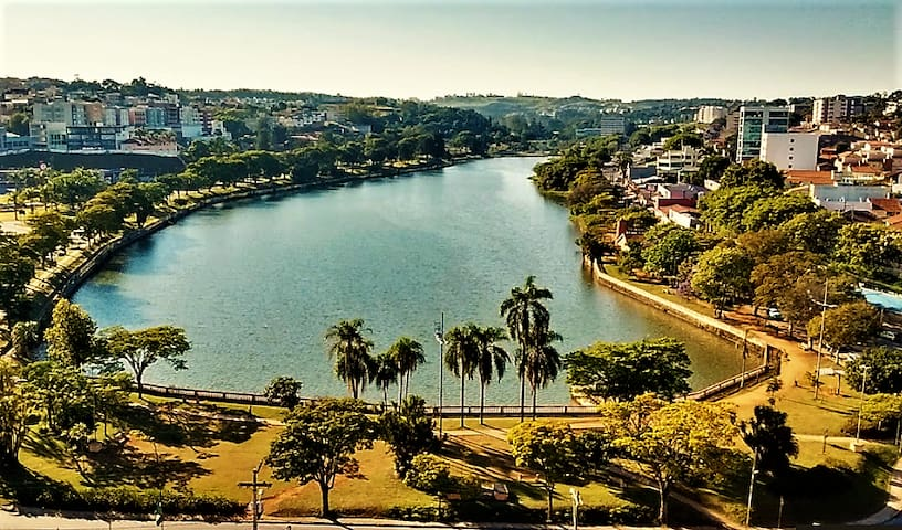 Cozy apartment in front of Taboão Lake - Bragança Paulista - Flat
