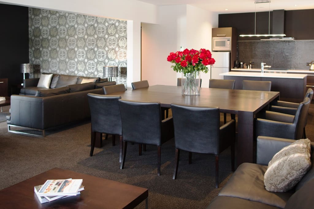 Lounge and Kitchen Penthouse