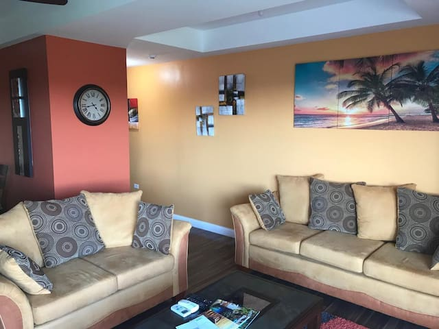 Elegant 2BR condo with view of Gulf of Paria