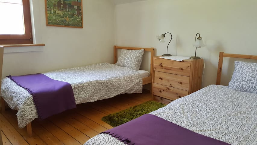 Cute room with two beds near town - Winterthur - House