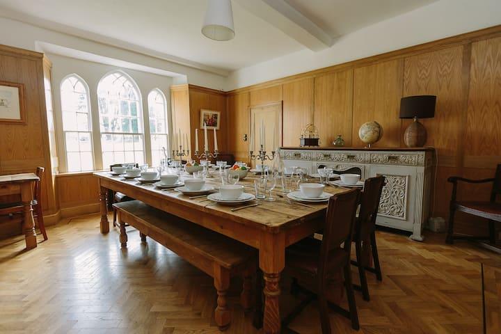 Brook Hall, Listed Manor House near Bath