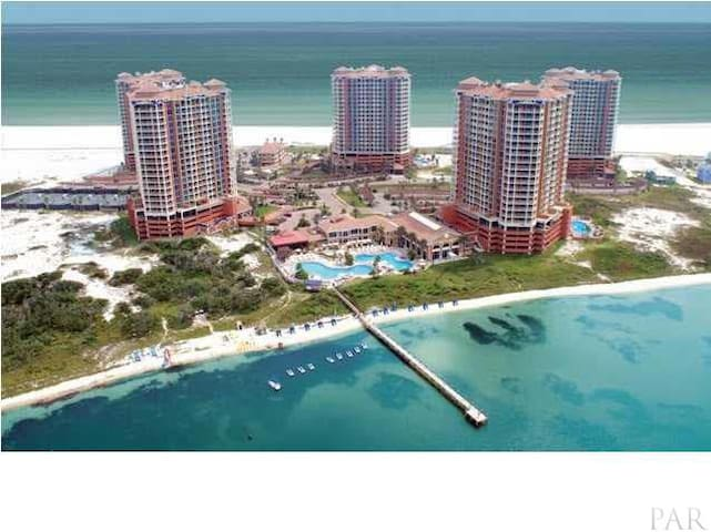 Luxury Condo with fabulous views Portofino 2 Bed - Gulf Breeze - Apto. en complejo residencial