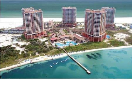 Luxury Condo with fabulous views Portofino 2 Bed - Gulf Breeze