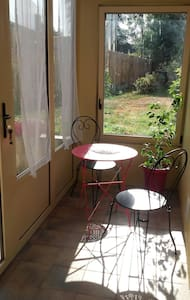 Coquet T1 (30 m2) avec jardin d'hiver