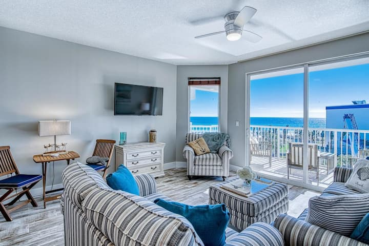Destin West Gulfside 510 ~ Amazing Beach View ~ Remodeled ~ Must See!