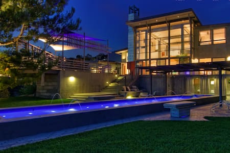 Sunset Estate with Dazzling Panoramic Views - Los Angeles - Villa - 0