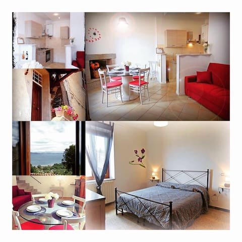 Holiday Home Il vicoletto - Bracciano - Rumah