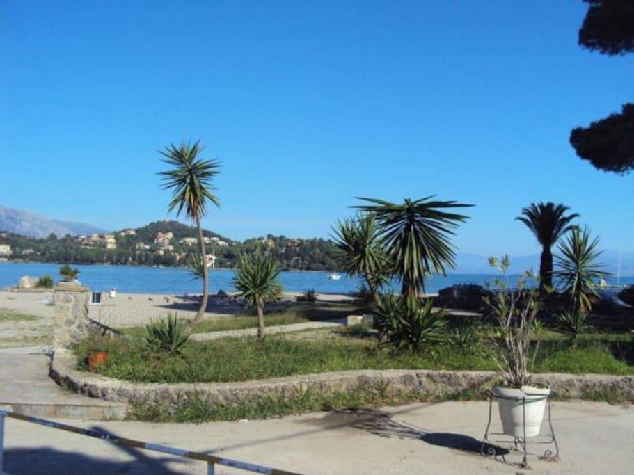 Gouvia beach