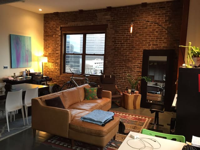 Luxury Loft 15 mins from NYC - Newark - Loft