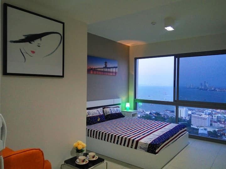 Sea View-king size bed(35)