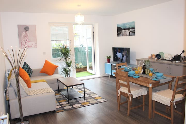 ❤️⭐️Luxury flat in Central MK with FREE PARKING ⭐️❤️
