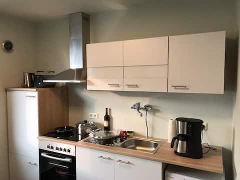 Viel Platz, viel Kunst, super Küche, alles neu