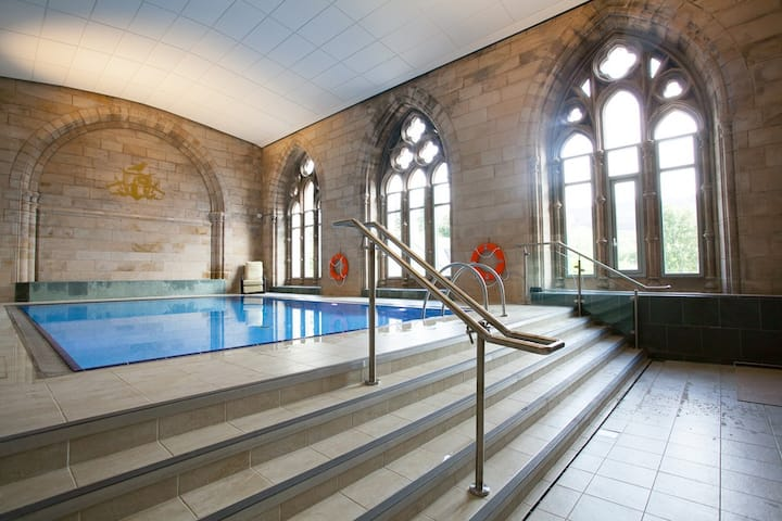 3-bedroom Loch Ness apartment in former Abbey!
