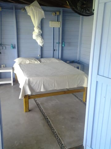 Double bed room # 3 in hut2