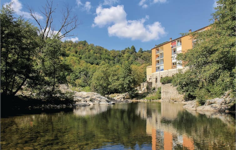 Awesome home in Vals les Bains with WiFi and 1 Bedrooms