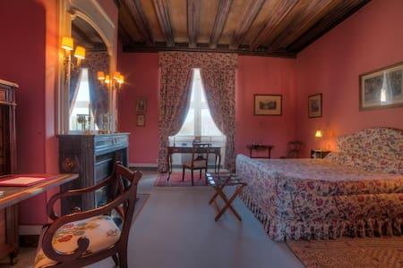 Belle chambre d'époque au Château de La Verrerie - Oizon - Schloss