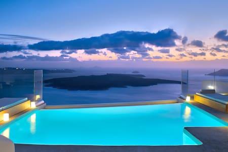 Villa Ioli Anastasia with private infinity pool - Thira - Villa