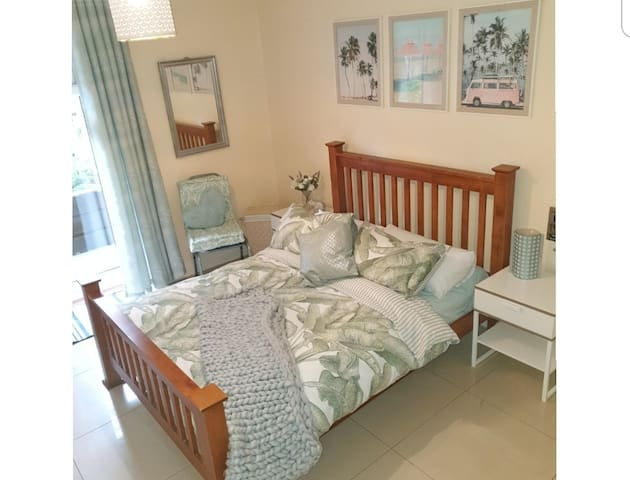 Perfect bedroom with wardrobe space and private access to outdoor terrace.