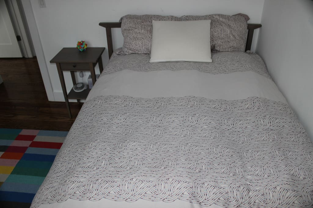 Comfortable Full-size bed