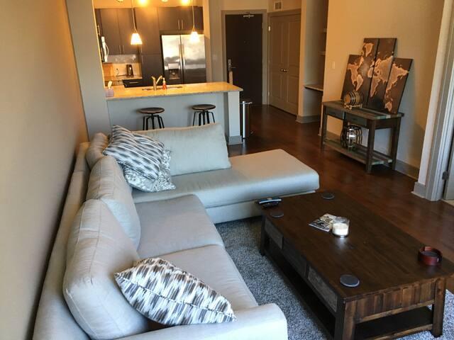 Luxury apartment in seaport