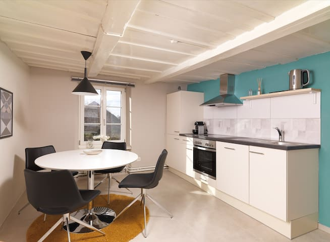Dreizimmerwohnung mit Seesicht