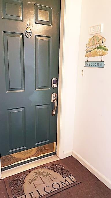 Key-code entrance