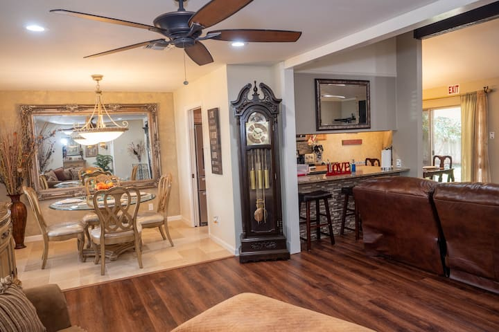 Quiet Family Home Near Lackland AFB, upgraded.