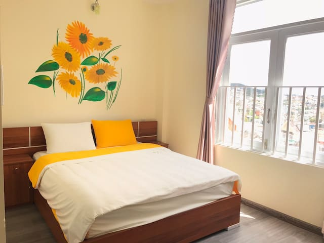 Delux Double room 201 - Big home Dalat