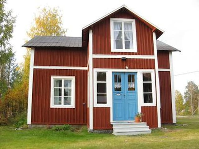 House on farm in Lapland