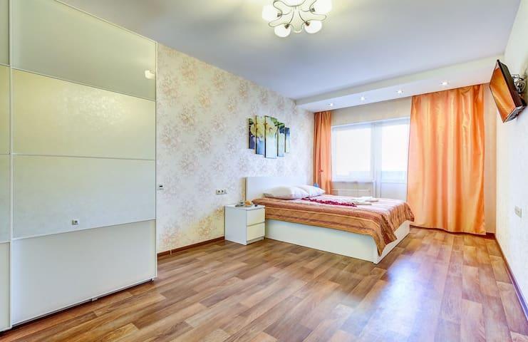 Большая, уютная 1 комнатная квартира в новостройке
