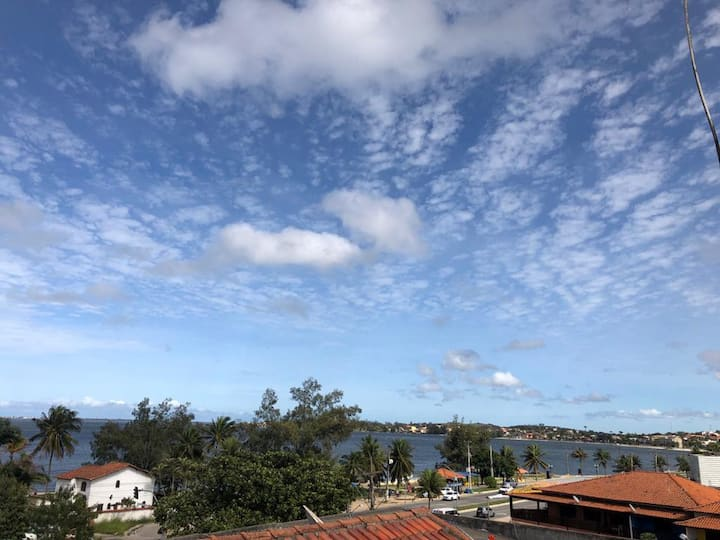 Cobertura com vista para Lagoa em Iguabinha