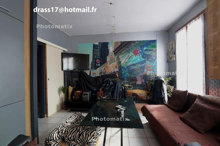 Appartement 37m2 agréable  lumineux  chaleureux