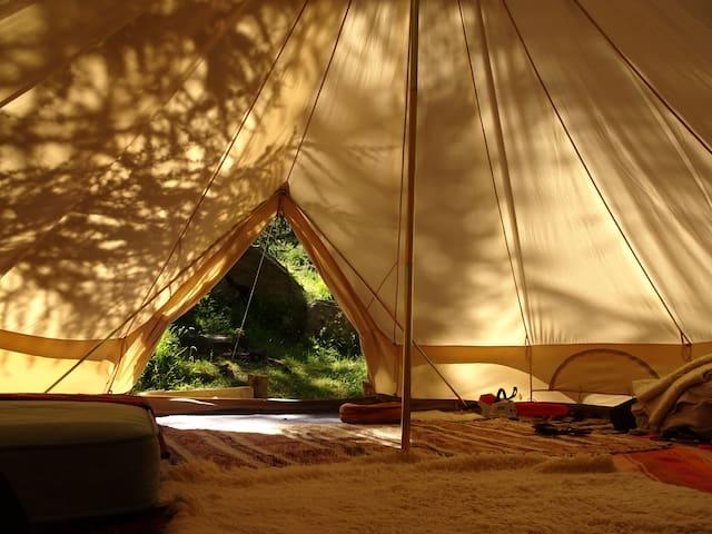 Dormir dans un Tipi au Paradis des Fées
