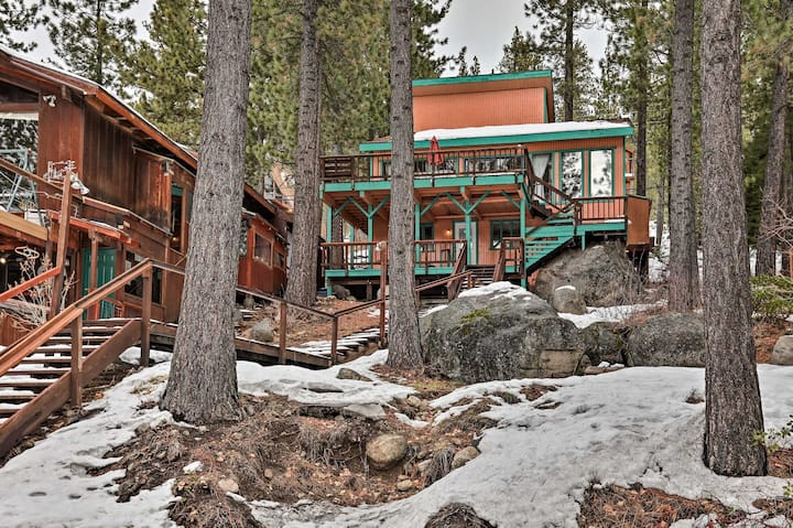 NEW! Life on the Lake: Boat, Ski & Hike in Truckee