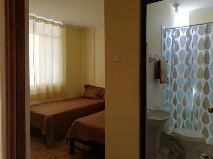 Habitacion Privada cama doble