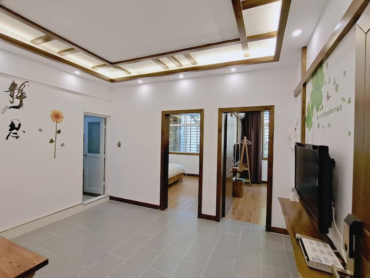 森林公园武陵源标志门附近,安居两室一厅家庭套房