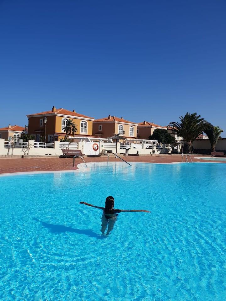 Villa Privada con piscina en Fuerteventura Golf