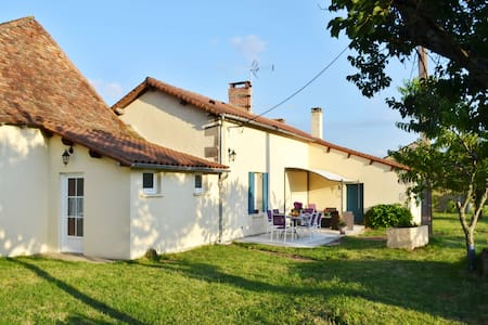 Peaceful cottage w countryside view - Les Lèches - Ev