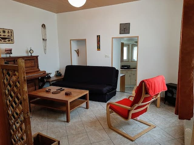Duplex dans le bourg de la Forêt Fouesnant