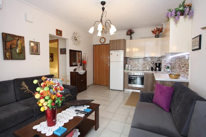 Luxury flat in Platamonas 2' from the beach!