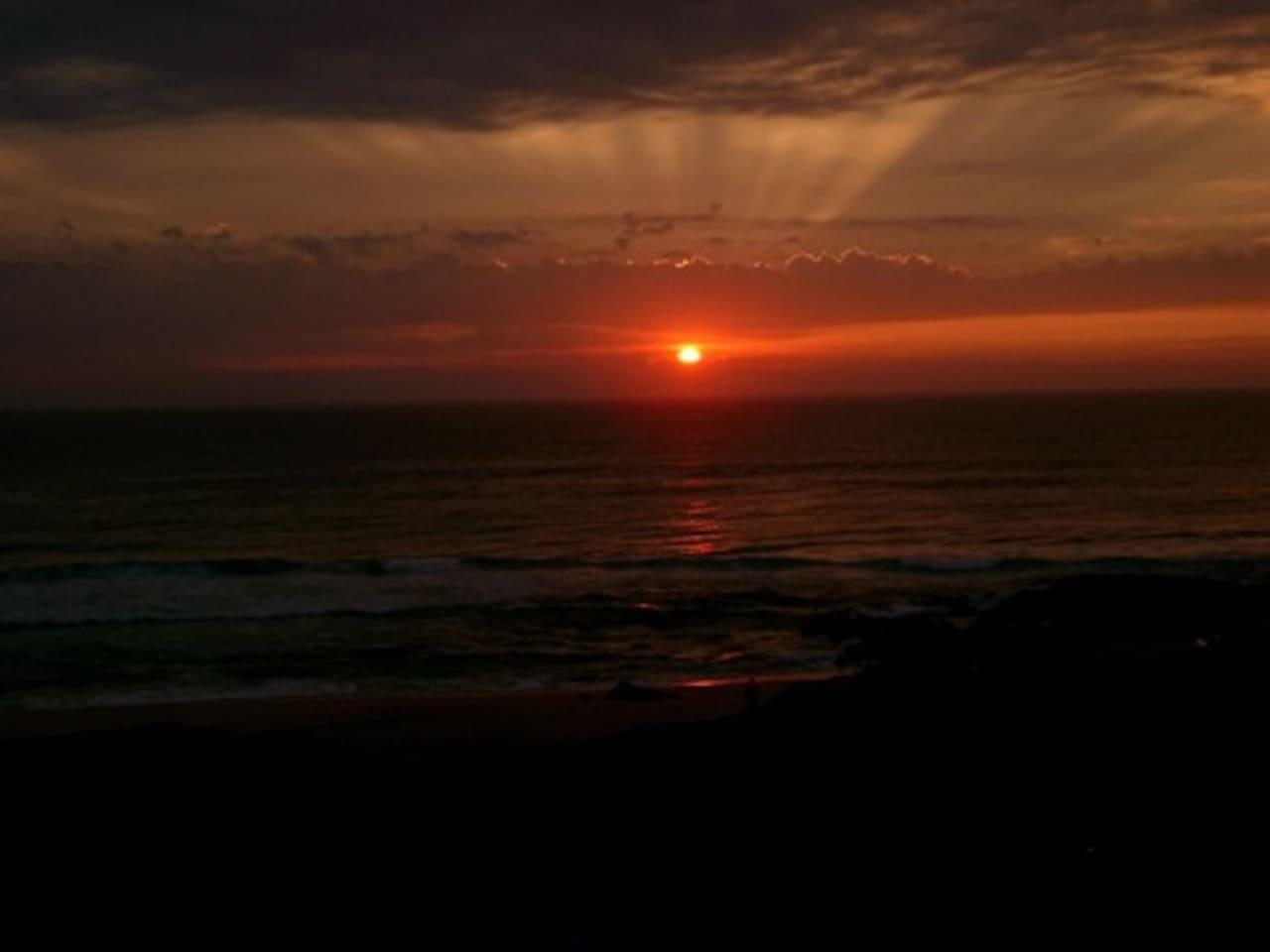 Preciosas puestas de sol para disfrutar desde la terraza