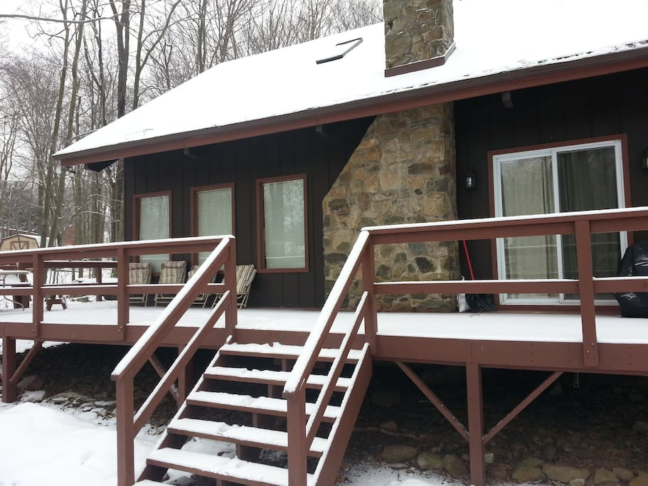 Cabin In Pocono Mountains Camelback Amp Waterparks Cabins