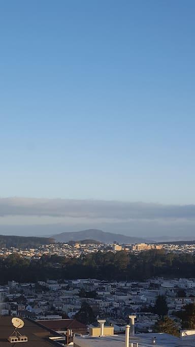 View overlooking Golden Gate Park