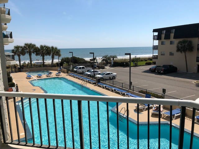 Oceanfront/Poolfront Condo at Myrtle Beach