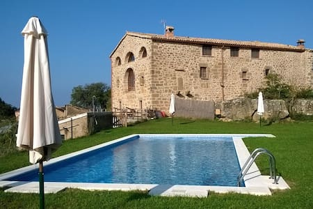 Habitación en Masia Rovira con desayuno bufet - Pinell de Solsonès