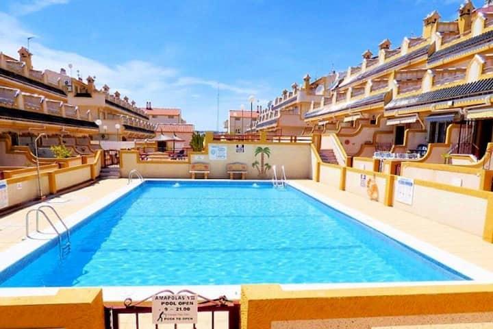 Casa MurMac de Playa Flamenca. Orihuela Costa.