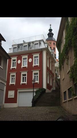 Elegantes Stadtpalais mit Garage - Baden-Baden - Casa